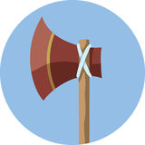 Tomahawk Icon Stock Photography