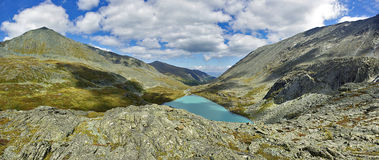 Tomaia Akcan del lago fotografia stock