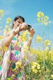 Tomando fotos Imagem de Stock Royalty Free
