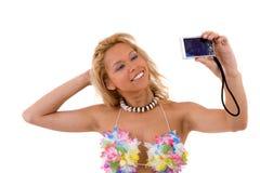 Tomando um retrato Imagens de Stock Royalty Free