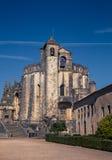 Tomar葡萄牙城堡 免版税库存照片