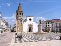 Tomar, центр города, Лиссабон Португалия Стоковое Фото