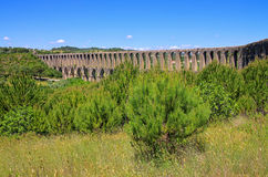 Tomar aqueduct Royalty Free Stock Images