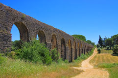 Tomar aqueduct Stock Photography