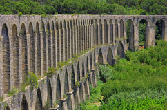 Tomar aqueduct Stock Photo