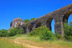 Tomar aqueduct Stock Image