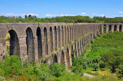 Tomar aqueduct Stock Images