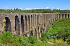 Tomar aqueduct Stock Images