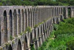 Tomar aqueduct Stock Photo