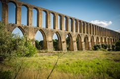 Tomar Aqueduct Royalty Free Stock Image