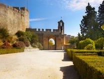 Tomar Castle, Πορτογαλία Στοκ Φωτογραφία