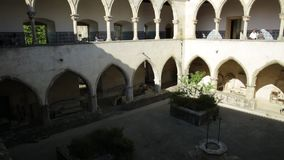 Tomar Castle Claustro video d archivio