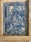 Portugal, Historical Azulejo ceramic tiles Stock Photos