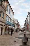 Tomar downtown Stock Photo