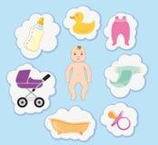 Tomar el cuidado del bebé Fotografía de archivo