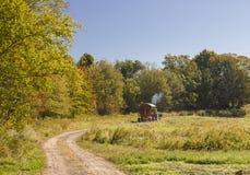 Tomar el hogar de cosecha Imagen de archivo libre de regalías
