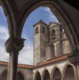 Tomar kasztel rycerza templariusz, Portugalia Zdjęcia Stock