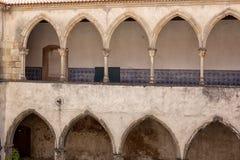 Tomar kasztel rycerza templariusz, Portugalia Zdjęcie Stock