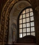 Tomar kasztel rycerza templariusz, Portugalia Zdjęcia Royalty Free