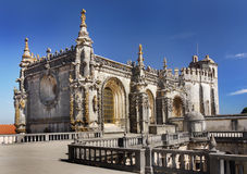 Tomar kościół, Portugalia Zdjęcia Stock