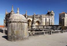 Tomar kościół, Portugalia Fotografia Royalty Free