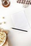 Tomar la nota Fotografía de archivo libre de regalías