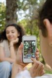 Tomar las fotos foto de archivo libre de regalías