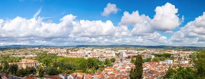 Tomar panorama Portugalia Zdjęcie Royalty Free