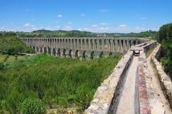 Tomar Aquädukt Lizenzfreies Stockfoto