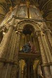 Tomar, Portugal, o 11 de junho de 2018: Interior dos cavaleiros do ` s de Tomar imagens de stock