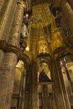 Tomar, Portugal, o 11 de junho de 2018: Interior dos cavaleiros do ` s de Tomar fotos de stock