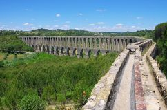 Tomar aqueduct Royalty Free Stock Photo