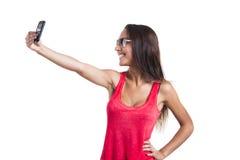 Tomar un selfie Fotos de archivo libres de regalías