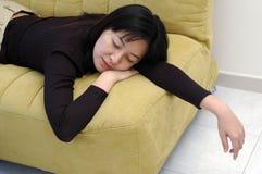 Tomar una siesta Imagen de archivo libre de regalías