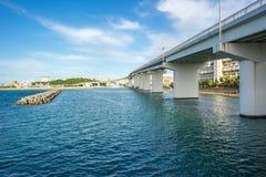 Tomari Port in Naha, Okinawa, Japan Royalty Free Stock Photos