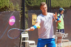 Tomas Berdych (CZE) Royalty Free Stock Photo