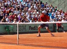Tomas Berdych en Roland Garros 2011 Foto de archivo