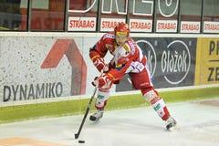 Tomas Hertl - Slavia Prag Lizenzfreie Stockfotos