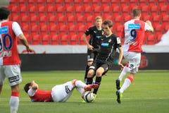 Tomas Horava - Slavia Prague vs. Viktoria Plzen Stock Photo