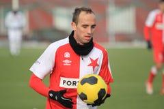 Tomas Jablonsky - Slavia Prague Royalty Free Stock Images