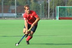 Tomas Jahoda - landhockey arkivfoto