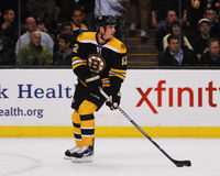 Tomas Kaberle, Boston Bruins Lizenzfreie Stockfotos