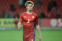 Tomas Kalas. PRAGUE 31/03/2015 _ Friendly match Czech Reublic U21 - Portugal U21 Royalty Free Stock Photos