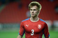 Tomas Kalas. 03/31/2015 PRAGUE _ Tomas Kalas. Friendly match Czech Reublic U21 - Portugal U21 Royalty Free Stock Photography