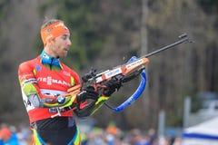 Tomas Krupcik - biathlon Royalty Free Stock Image