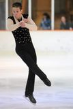 Tomas Kupka - patinaje artístico Fotos de archivo