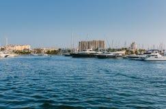 Tomas Maestre Harbor La Manga, Murcia Royaltyfri Fotografi