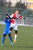 Tomas Necid Karisik i Milos - futbol Fotografia Royalty Free