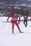 Tomas Northug - cross country skier. Tomas Northug from Norway during the cross country ski sprint within the FIS World Cup in Liberec, Czech REpublic. The event Stock Photography