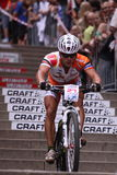 Tomas Pesek - Prague bike race 2011 stock image